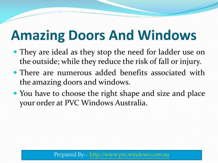 Amazing Doors And Windows