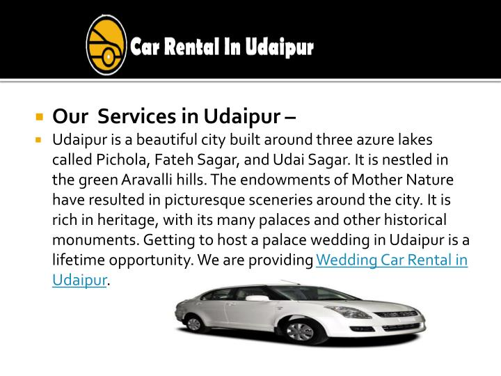 Our  Services in Udaipur –