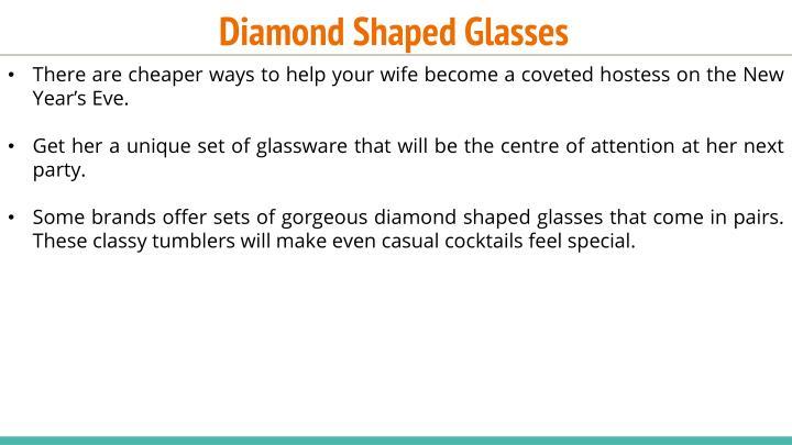 Diamond Shaped Glasses