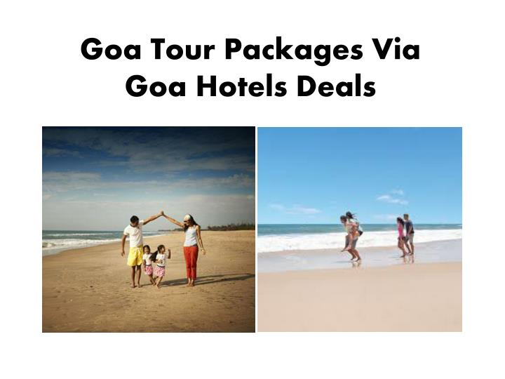 Goa Tour Packages Via