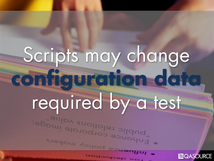 Scripts may change