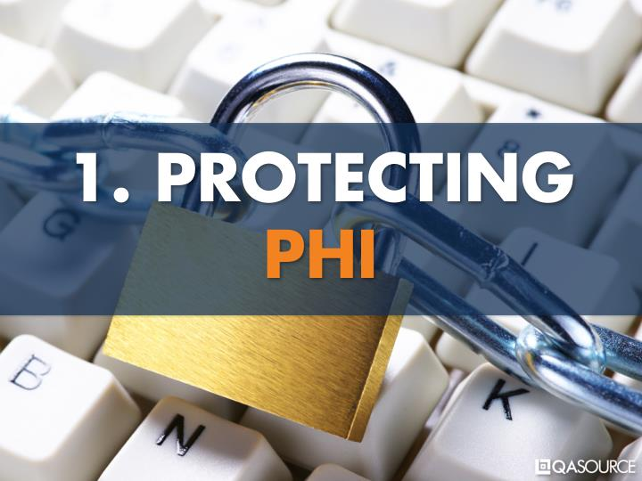 1. PROTECTING