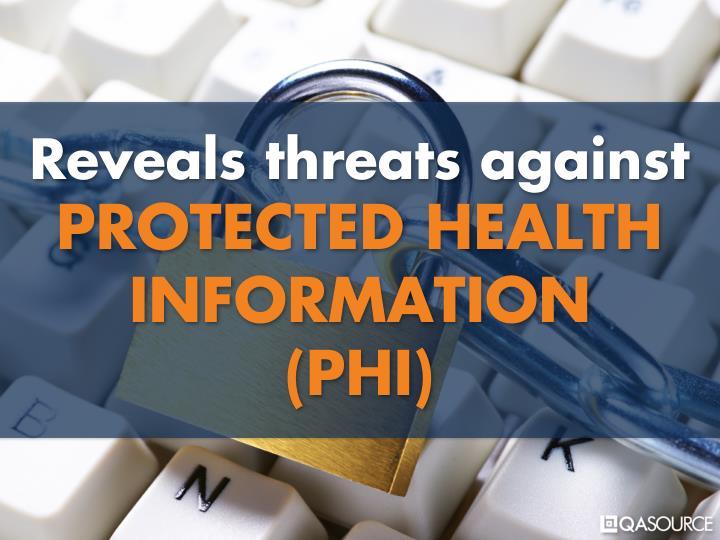 Reveals threats against