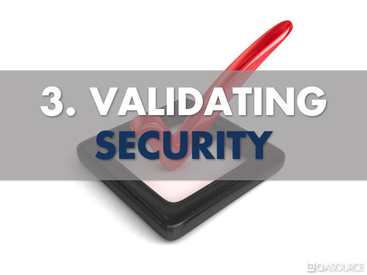 3. VALIDATING