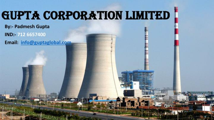 gupta corporation limited n.