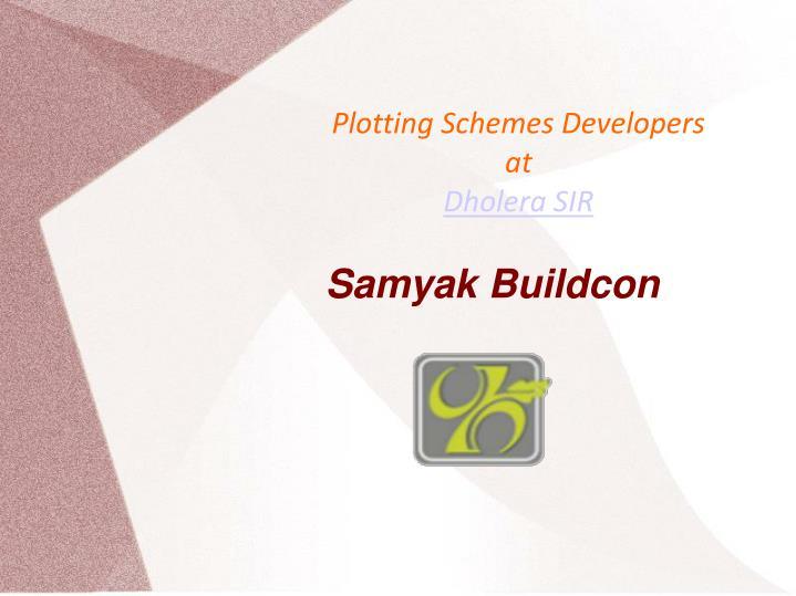 Plotting Schemes Developers