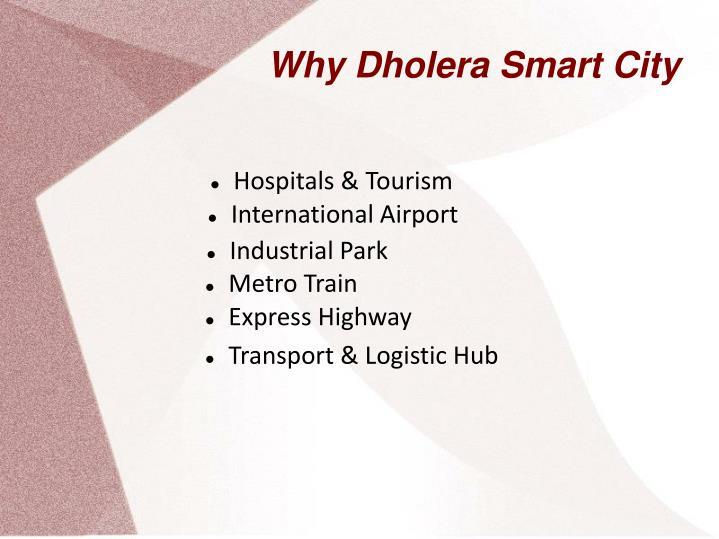 Why Dholera Smart City