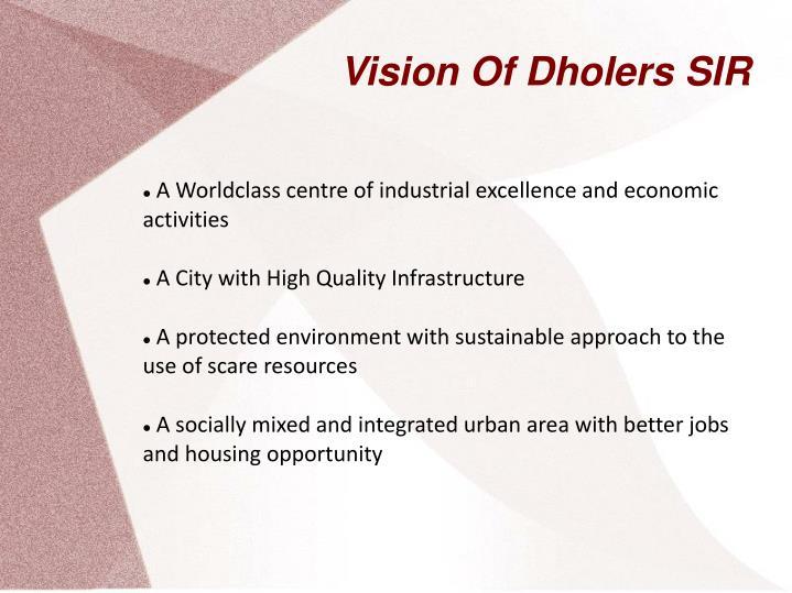 Vision Of Dholers SIR