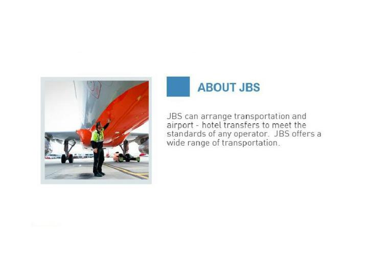 Travel and transportation services jbs