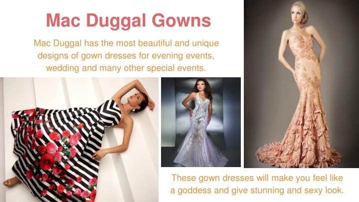 Mac Duggal Gowns