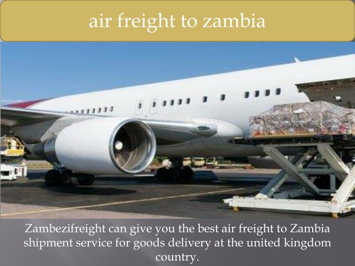 air freight to