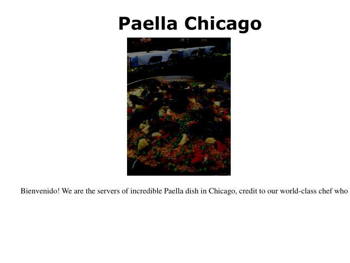 Paella Chicago