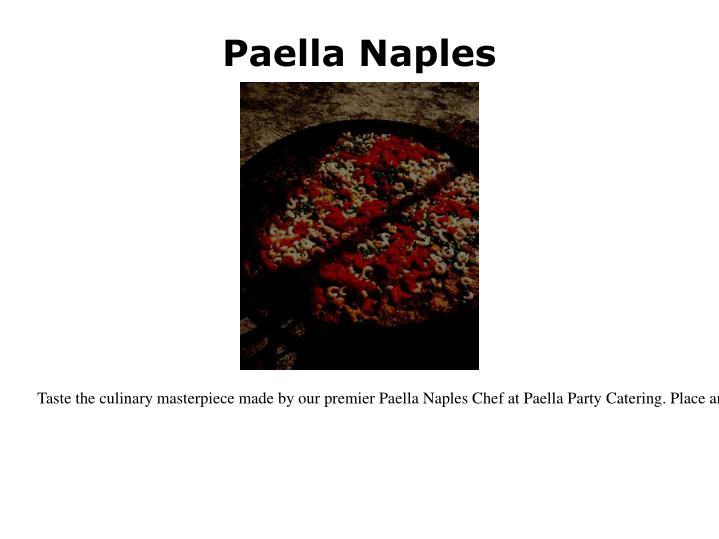 Paella naples