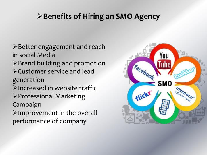 Benefits of Hiring an SMO Agency