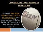 commercial space rental st petersburg