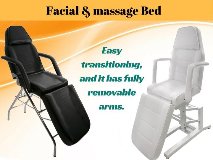 Facial & massage Bed