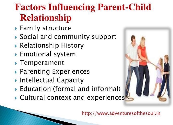 Factors Influencing Parent-Child Relationship