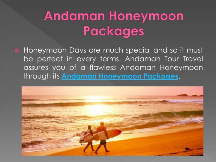Andaman Honeymoon Packages