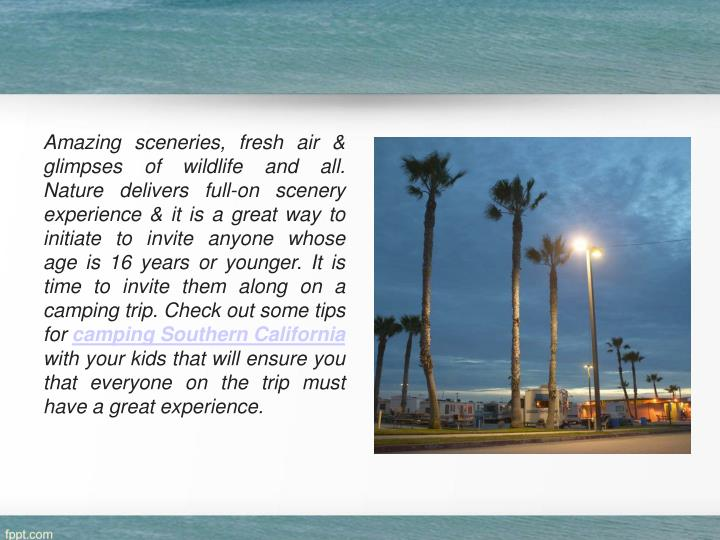 Amazing sceneries, fresh air & glimpses of wildlife and all. Nature delivers full-on scenery experie...