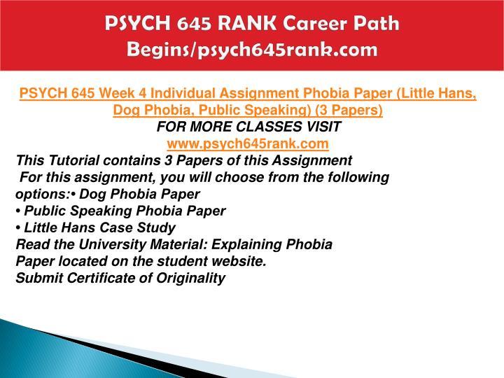 essay chosen career path