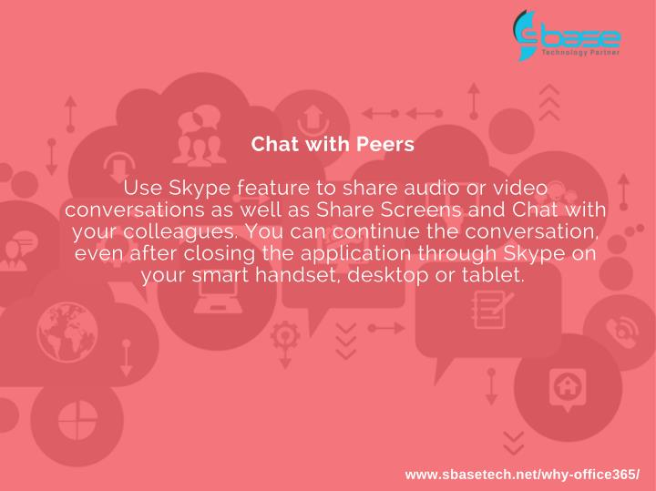 Chat with Peers