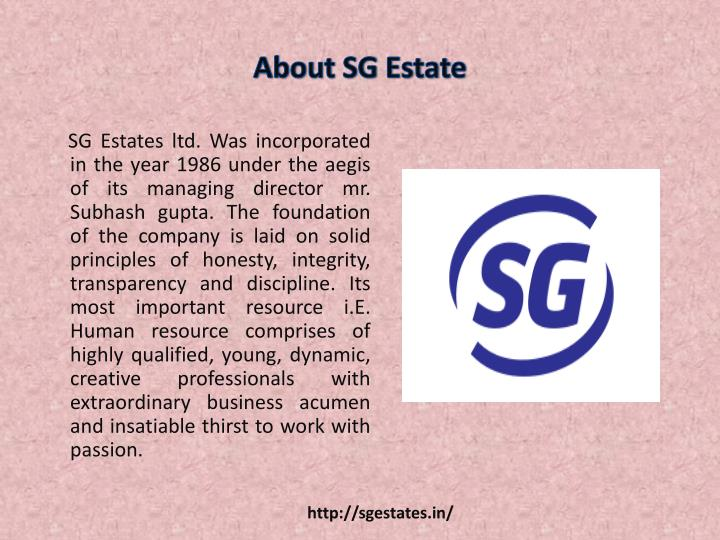 About sg estate