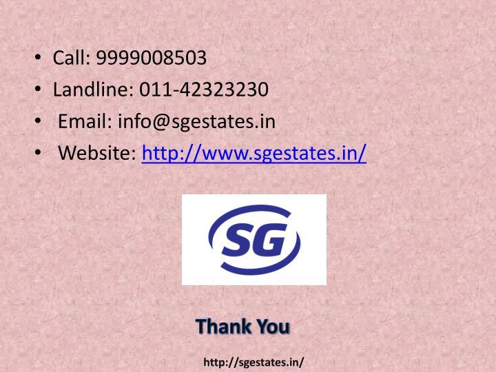 Call: 9999008503