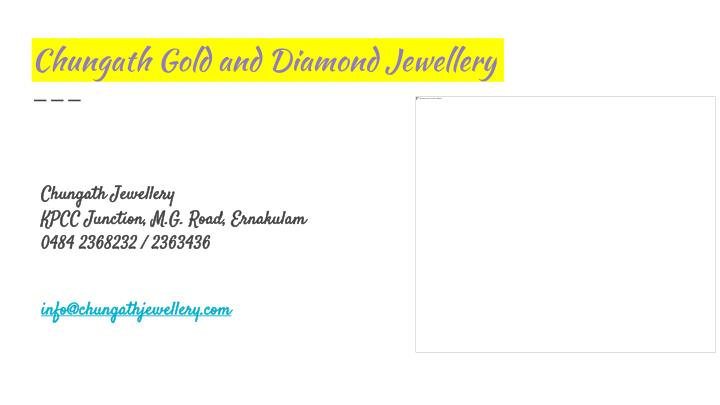 Chungath Gold and Diamond Jewellery