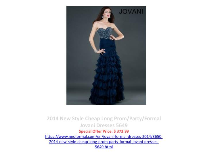 2014 New Style Cheap Long Prom/Party/Formal Jovani Dresses 5649