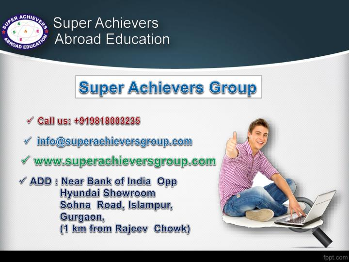 Super Achievers Group