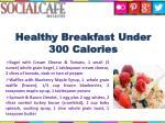 healthy breakfast under 300 calories
