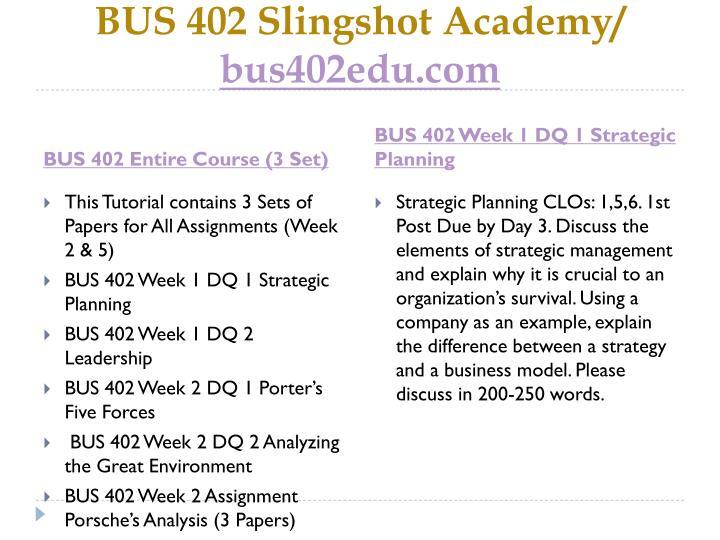 Bus 402 slingshot academy bus402edu com1