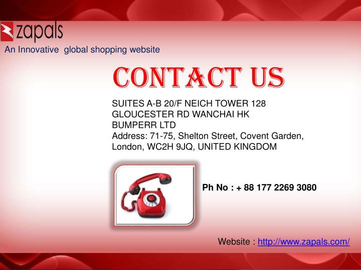An Innovative global shopping website
