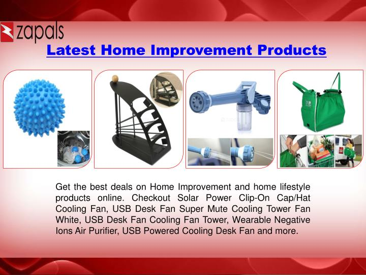 Latest Home Improvement Products