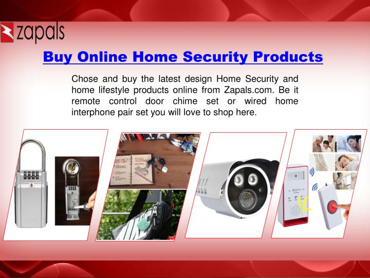 Buy Online Home Security Products