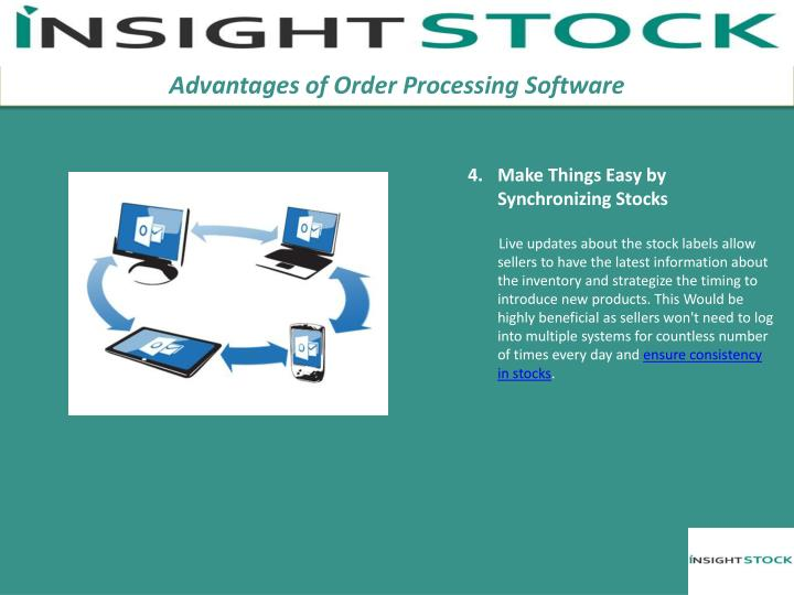 Advantages of Order Processing Software