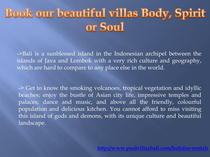 ->Bali is a sunblessed island in the Indonesian archipel between the