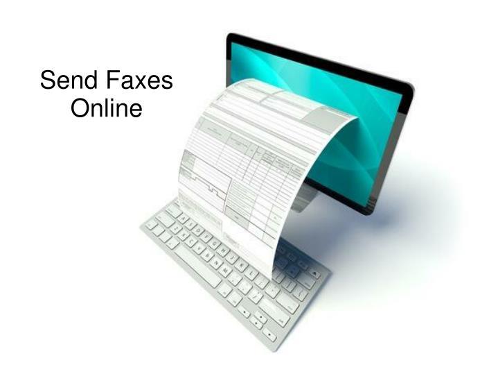 Send Faxes Online