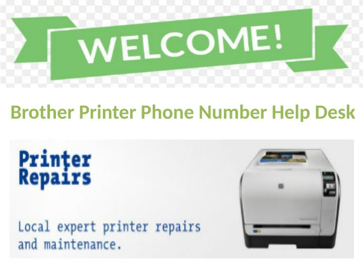 Brother Printer Phone Number Help Desk