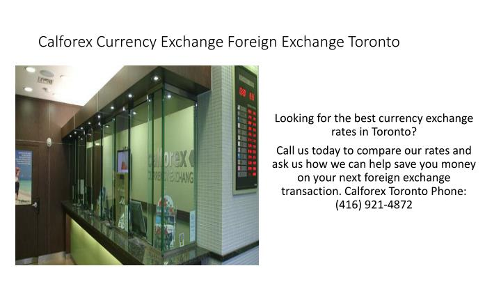 Calforex Currency Exchange Foreign Toronto