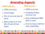 amending aspects