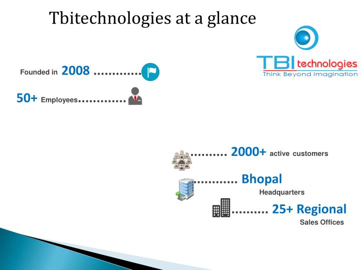 Tbitechnologies at a glance