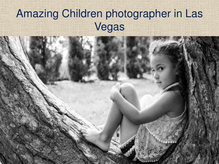 Amazing Children photographer in