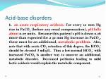 acid base disorders1