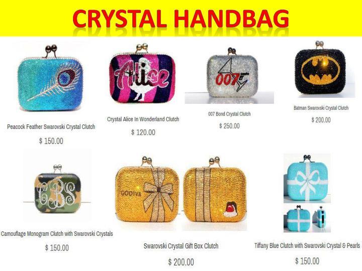 Crystal handbag