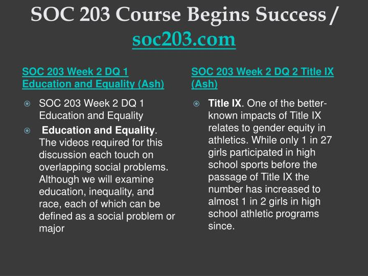 soc 203 course outline for fall T/th 9:30-10:45 - ped room 203 course objectives: course outline subject to change fall, 1999 author: ecc.