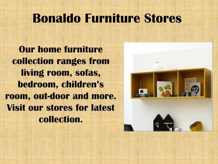 Bonaldo furniture stores