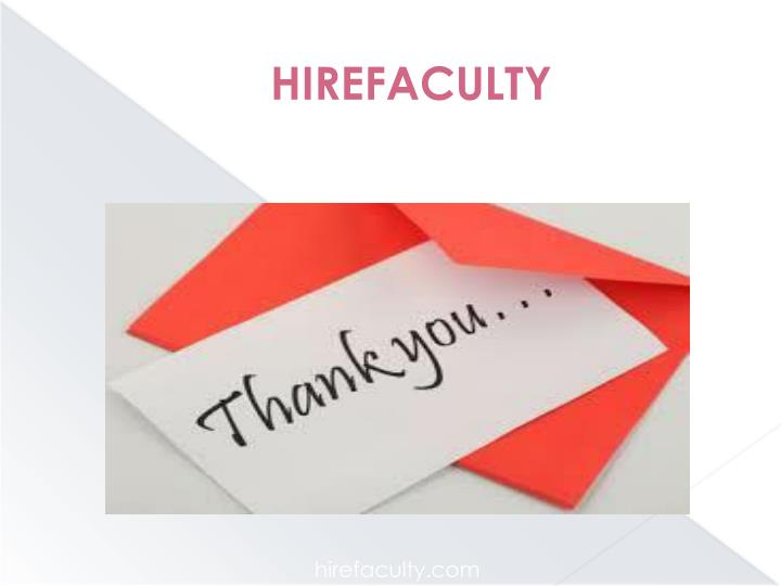 HIREFACULTY