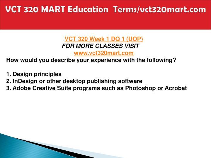 Vct 320 mart education terms vct320mart com2