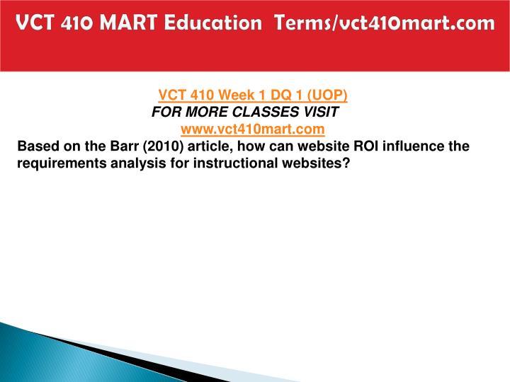 Vct 410 mart education terms vct410mart com2